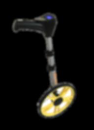 Tekerlekli metre sayaç kumaş boy ölçer pozisyon göstergesi