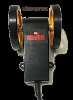 Manivela kasnak kollu reset ekranlı tekerli enkoder