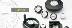 Handwheels with position gauge