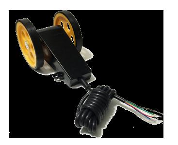 Tekerlekli enkoder manivela kasnak kollu encoder