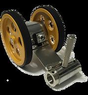 tekerlekli enkoder tekerlekli encoder çift tekerlekli enkoder yaylı kollu