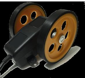 Tekerlekli enkoder kasnak manivela yaylı kollu aparat