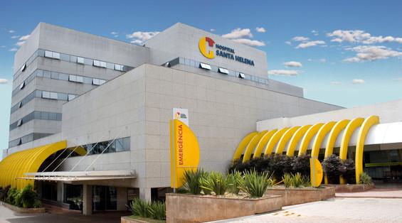 Fachada Hospital Santa Helena