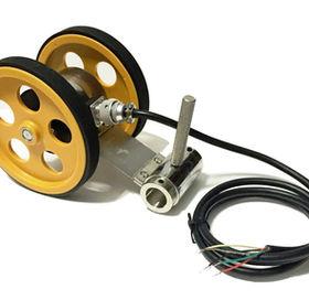 Tekerlekli encoder enkoder dijital çıkışlı artımlı enkoder kollu kasnak yaylı enkoder