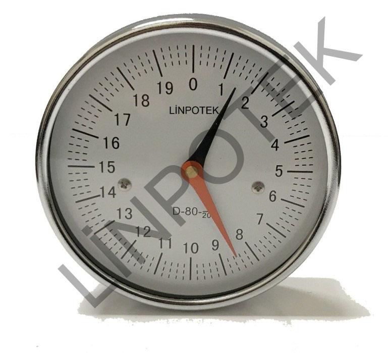 LSN1 Saat model numaratör
