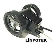 Tekerlekli enkoder Tekerli enkoder wheel encoder kasnak manivela kollu yaylı enkoder