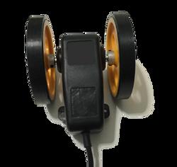 Tekerlekli enkoder artımsal kasnak manivela yaylı kollu aparat