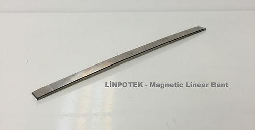 Manyetik mıknatıs enkoder bant çok kutuplu manyetik bant