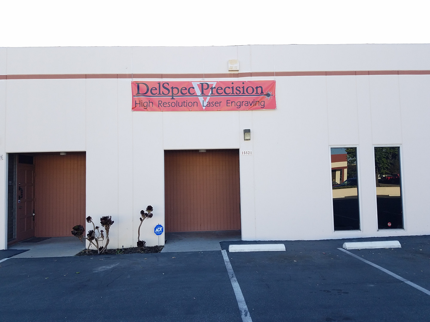 DelSpec Precision Laser Engraving Building