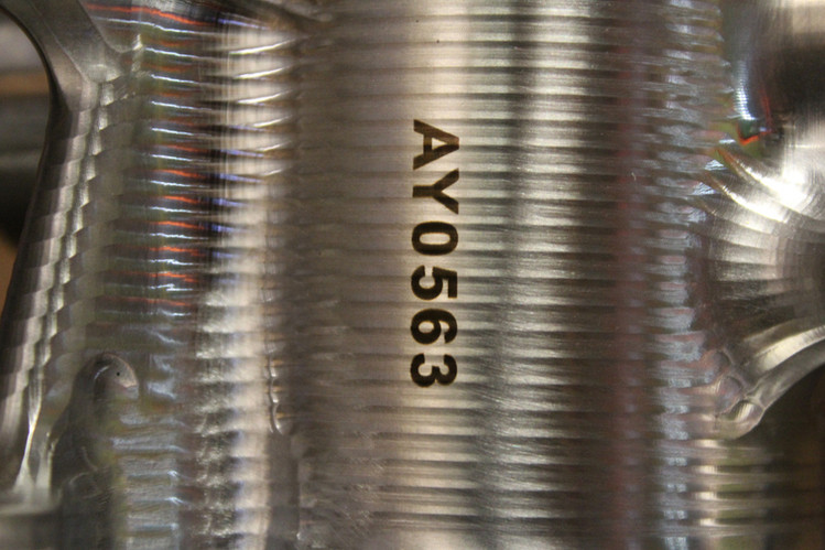 Laser Engraving Aneal on Contour - DelSpec Precision