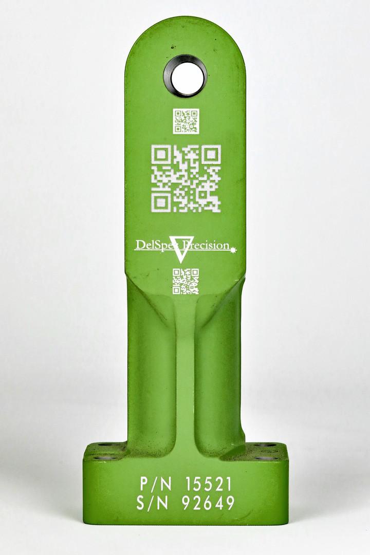 QR Code Engraving - DelSpec Precision.jp