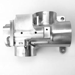 Laser Engraved Aerospace Part - DelSpec Precision