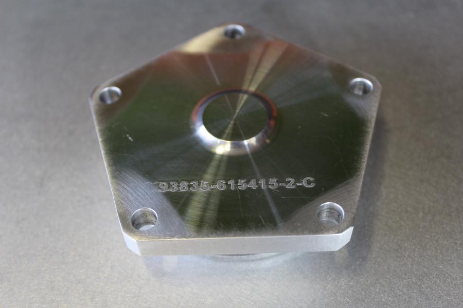 Aluminum Cap Laser Etched