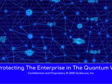 Check Out the Latest QuSecure Overview Video with CEO, Dave Krauthamer