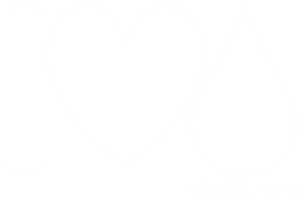 I-Heart-Water TCWN window cling - white.
