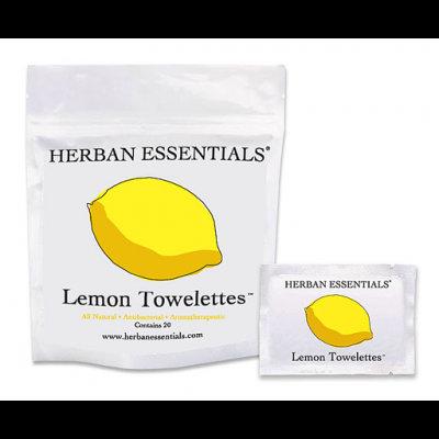 Herban Essentials Lemon - 20 Count