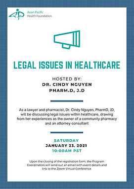 2021-01-23 Legal Issues in Healthcare ft