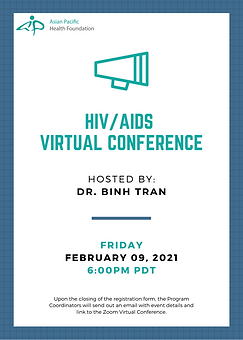 2021-04-09  HIV_AIDS Virtual Conference.