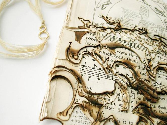 'Literary Corpus' Neckpiece