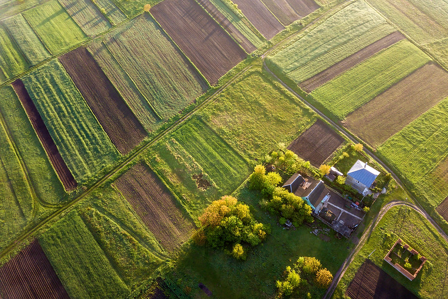 top-view-of-rural-landscape-on-sunny-spr