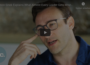 What almost every leader gets wrong (by Simon Sinek)