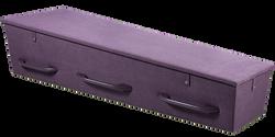 Gewatteerde kist dieppaars LI-DP