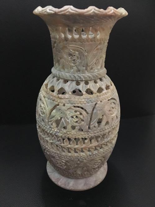 Himalayan Salt Stone Vase