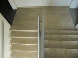 Treppen und Podesbelag