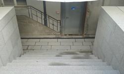 Granit Treppe, Wange und Boden