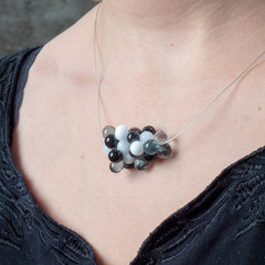 collier grappe - 58€