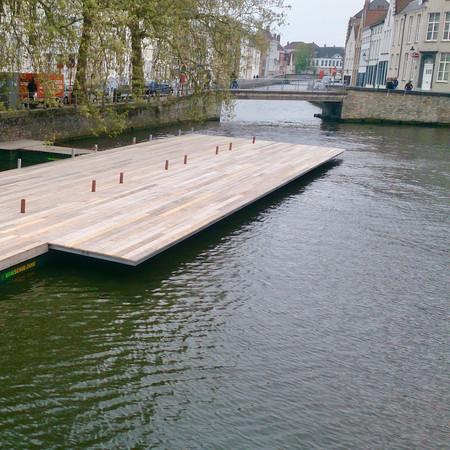 swimming platform Bruges 2015
