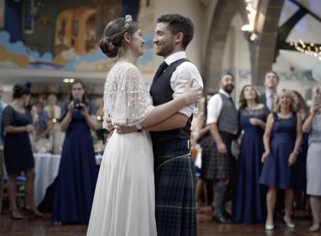 Wedding at The Oran Mor