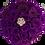 Thumbnail: egg plant eternity roses - pink medium round box