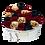 Thumbnail: rgb mix eternity roses - mini white heart box