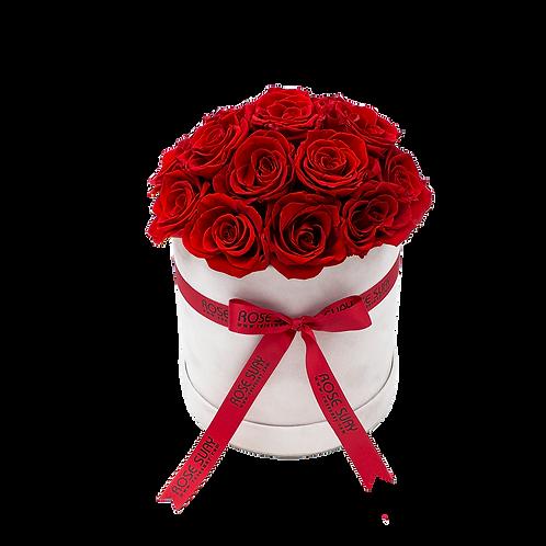 red eternity roses - medium garage mix whitevelvetbox