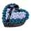 Thumbnail: lilac & sea blue eternity roses | venti black heart box