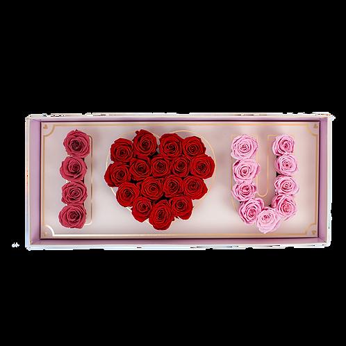 BPR eternity roses mix - love box