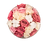 Thumbnail: blush red,white and soft pink eternity flowers -beige brown velvet box