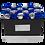 Thumbnail: blue&silver eternity roses - small rectangle box