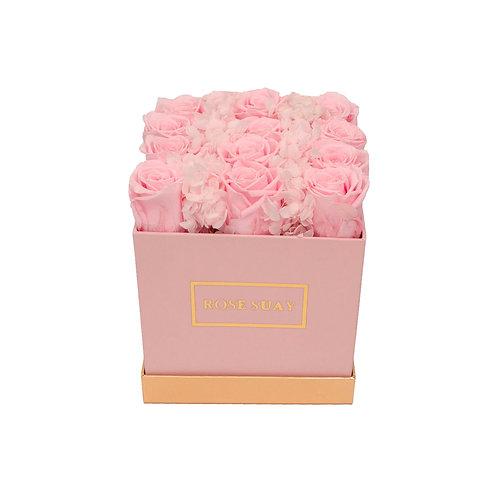 mini square - soft shade flowers | eternity box