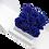 Thumbnail: azure blue eternity roses - white cube box