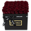 Thumbnail: wine red eternity roses - venti black square box