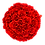 Thumbnail: red eternity roses - white large round box