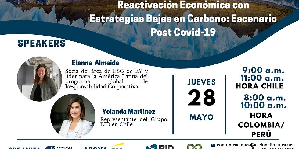 Reactivación Económica con Estrategias Bajas en Carbono: Escenario Post Covid-19