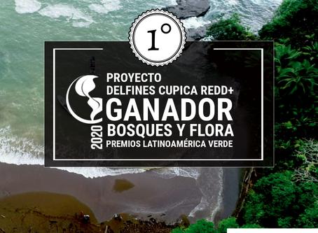 DELFINES CUPICA REDD+, proyecto Ganador en los Premios Latinoamérica Verde