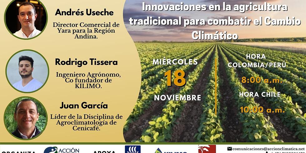 Innovaciones en la agricultura tradicional para combatir el cambio climático