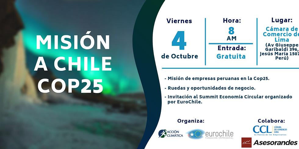 Misión a Chile COP 25