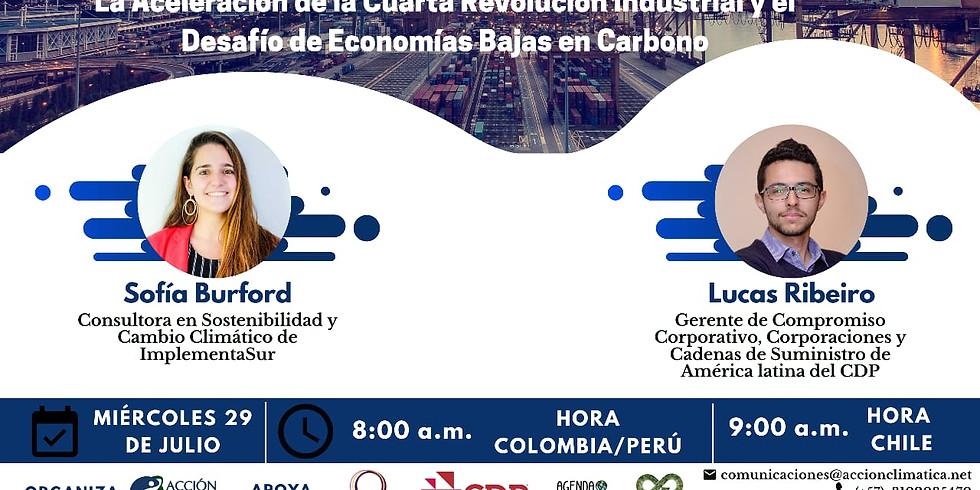 La Aceleración de la Cuarta Revolución Industrial y el Desafío de Economías Bajas en Carbono