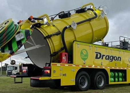 Dragon lanza al mercado el primer equipo de succión a Gas en Colombia con tecnología Euro6