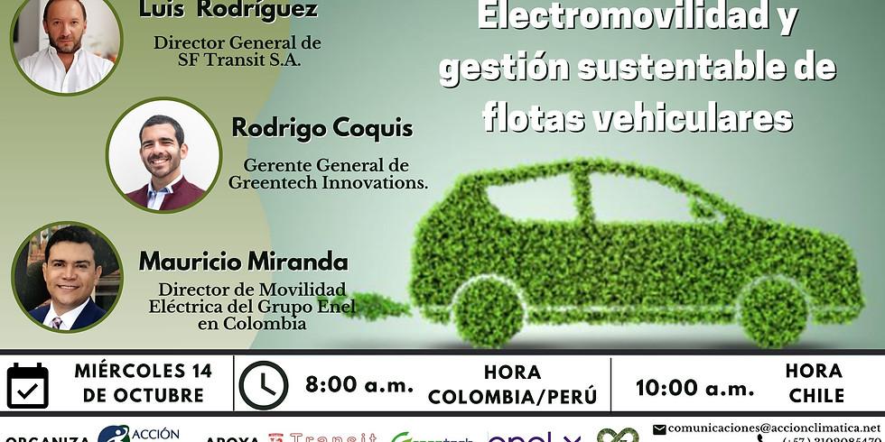 Electromovilidad y gestión sustentable de flotas vehiculares